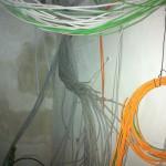 Kabel-Salat im HWR