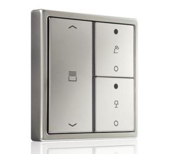 Neue KNX-RF Handsender und Tastsensoren von Jung