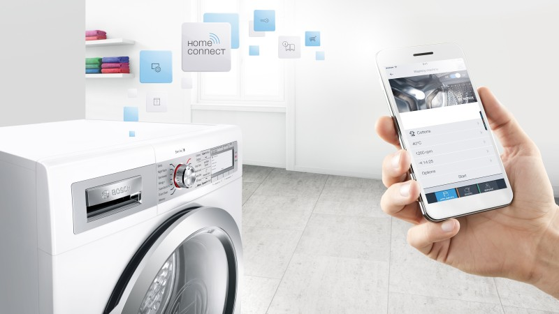 Intelligente Smart-Home-Haushaltsgeräte